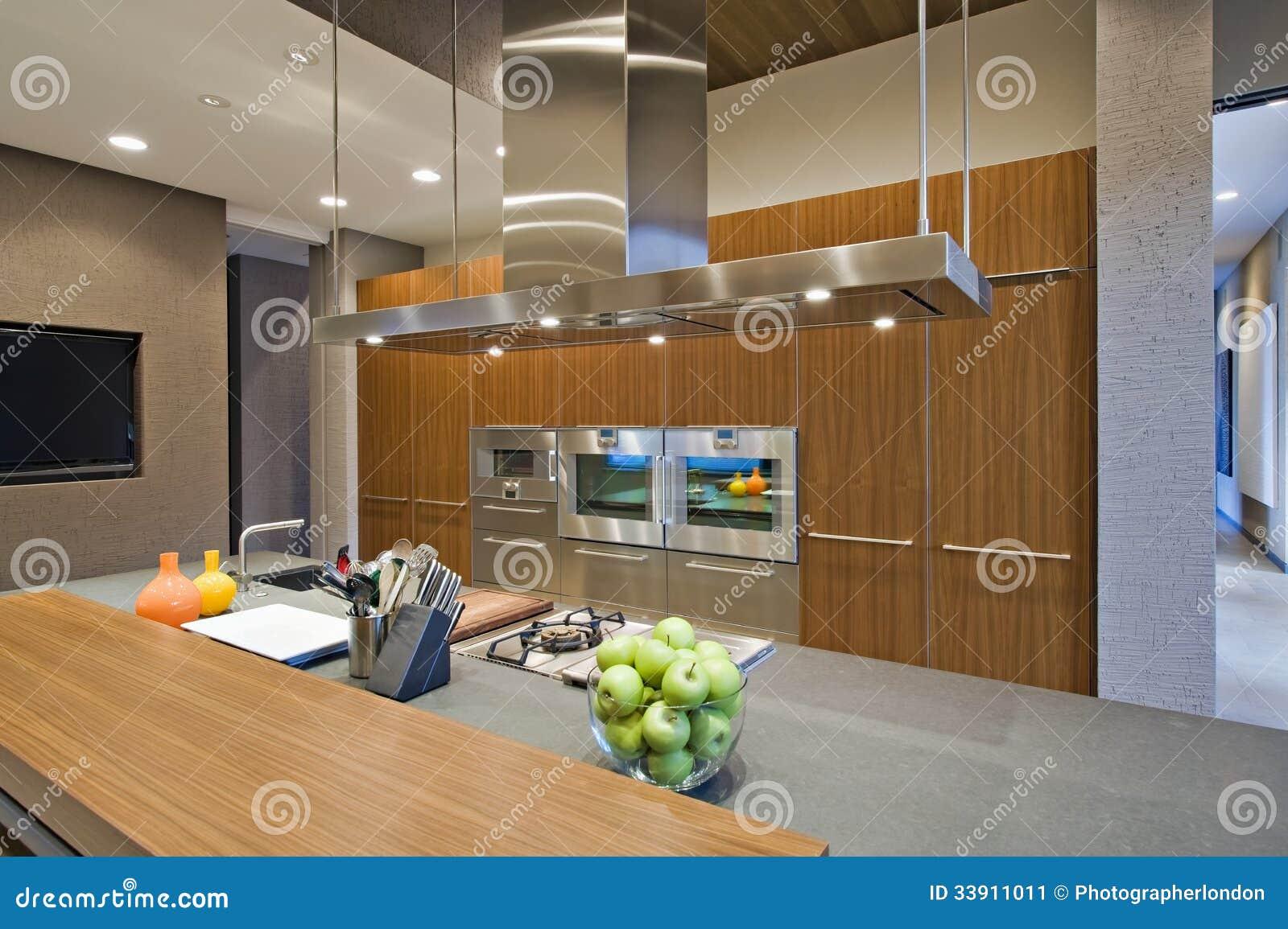 Cozinha almofadada madeira de Spotlit