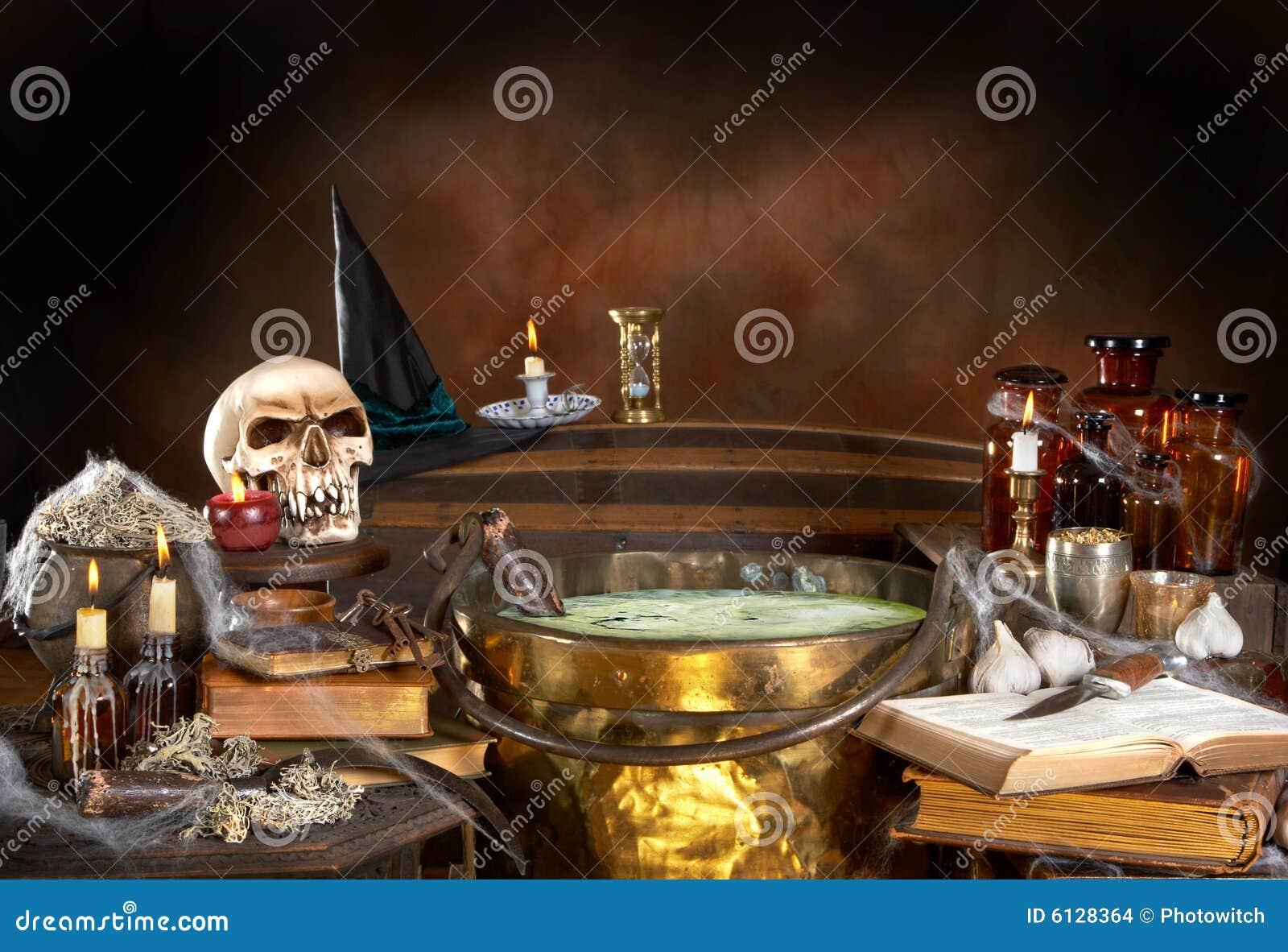 Bruxa Da Ma Do Veneno Foto De Stock Imagem De Sinister 16313142