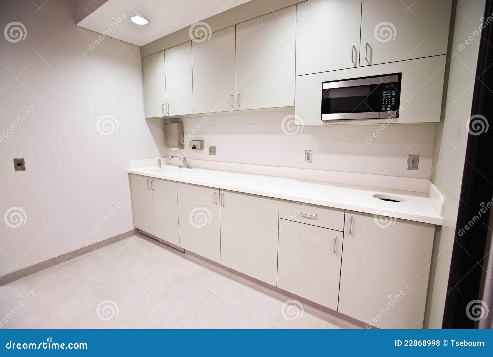 Cozinha do quarto da ruptura do escritório