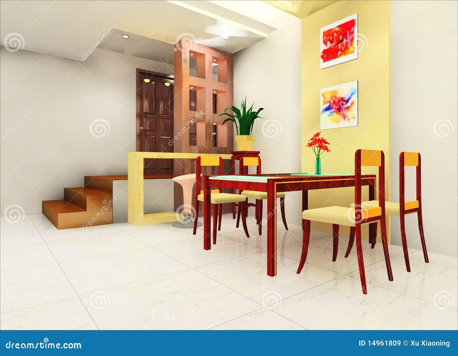 Cozinha E Corredor Imagens de Stock Royalty Free Imagem: 14961809 #BB9110 1300 1028