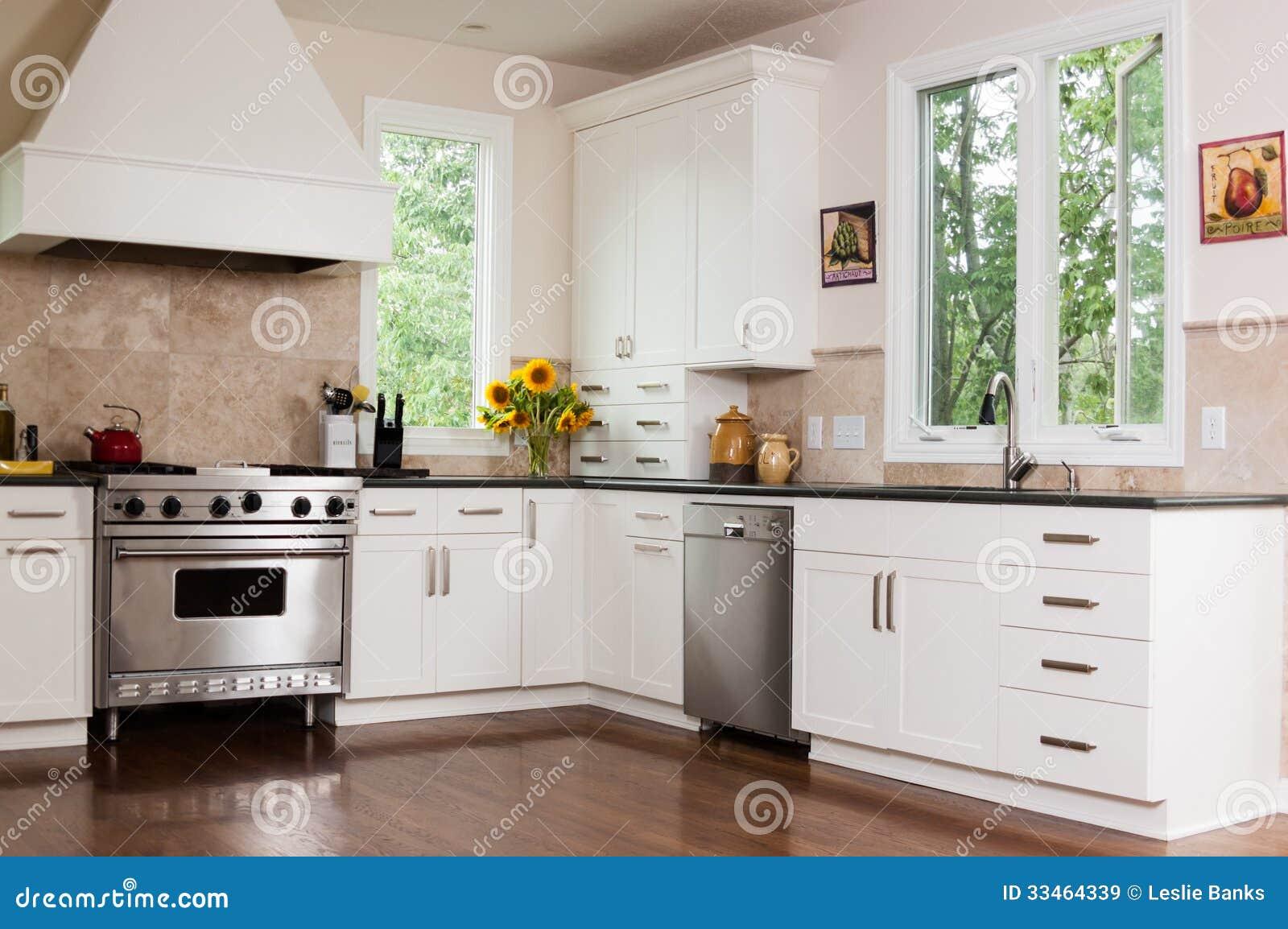 Cozinha Feita Sob Encomenda Imagens de Stock Royalty Free Imagem  #A77324 1300 954