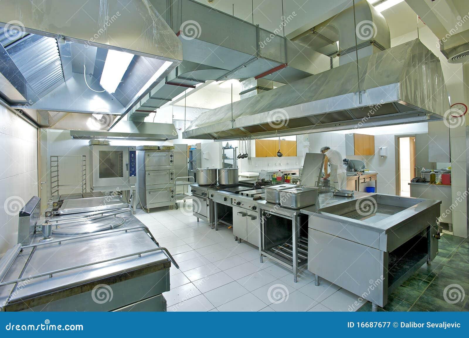 Cozinha Industrial Fotografia de Stock Royalty Free Imagem: 16687677 #51677A 1300 955