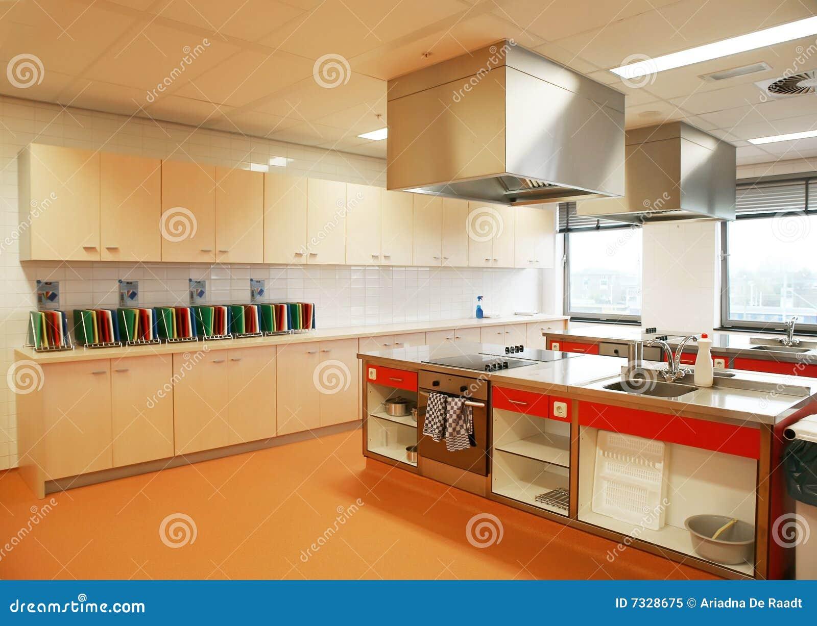 Cozinha Industrial Imagem De Stock Imagem De Coma Prepara O 7328675