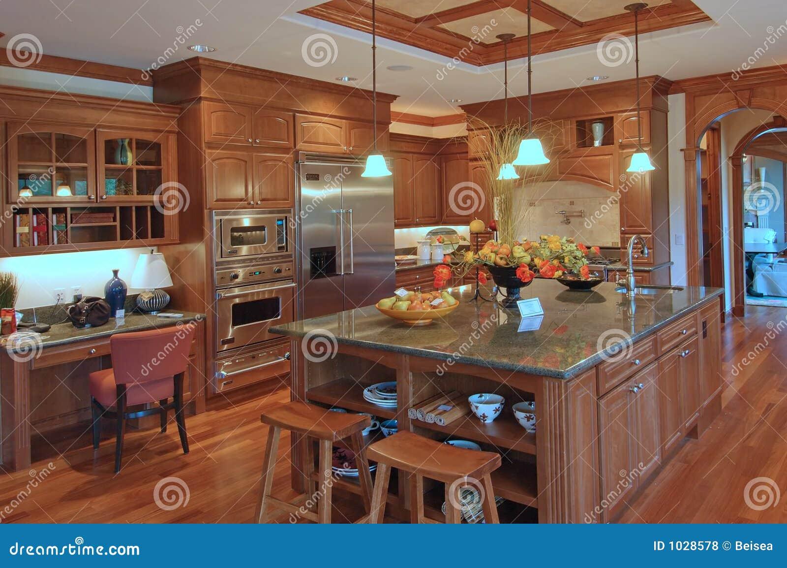 Cozinha Luxuosa 2 Fotos de Stock Royalty Free Imagem: 1028578 #1D84AE 1300 954