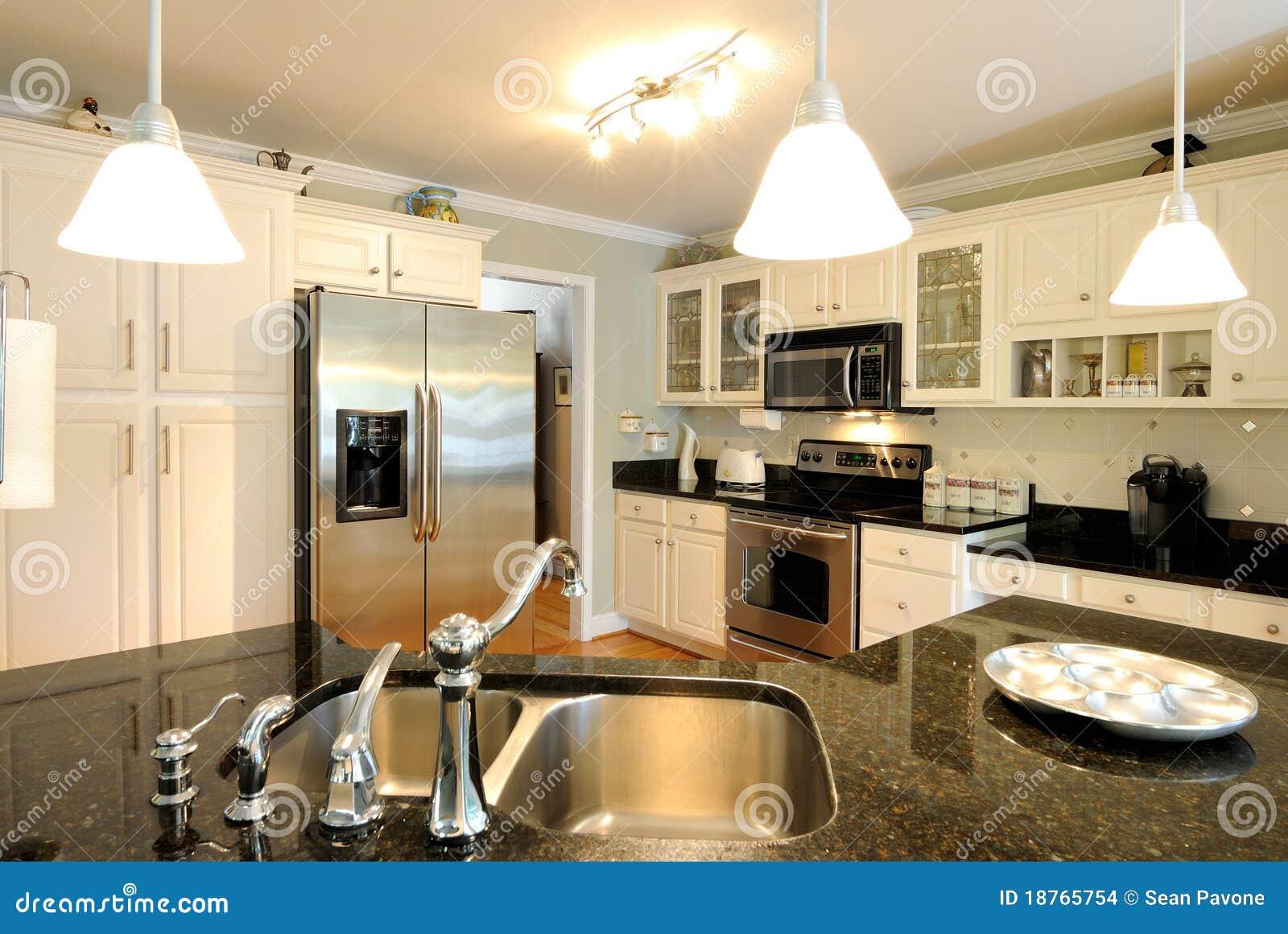 Cozinha Moderna Imagens de Stock Imagem: 18765754 #82A229 1300 960