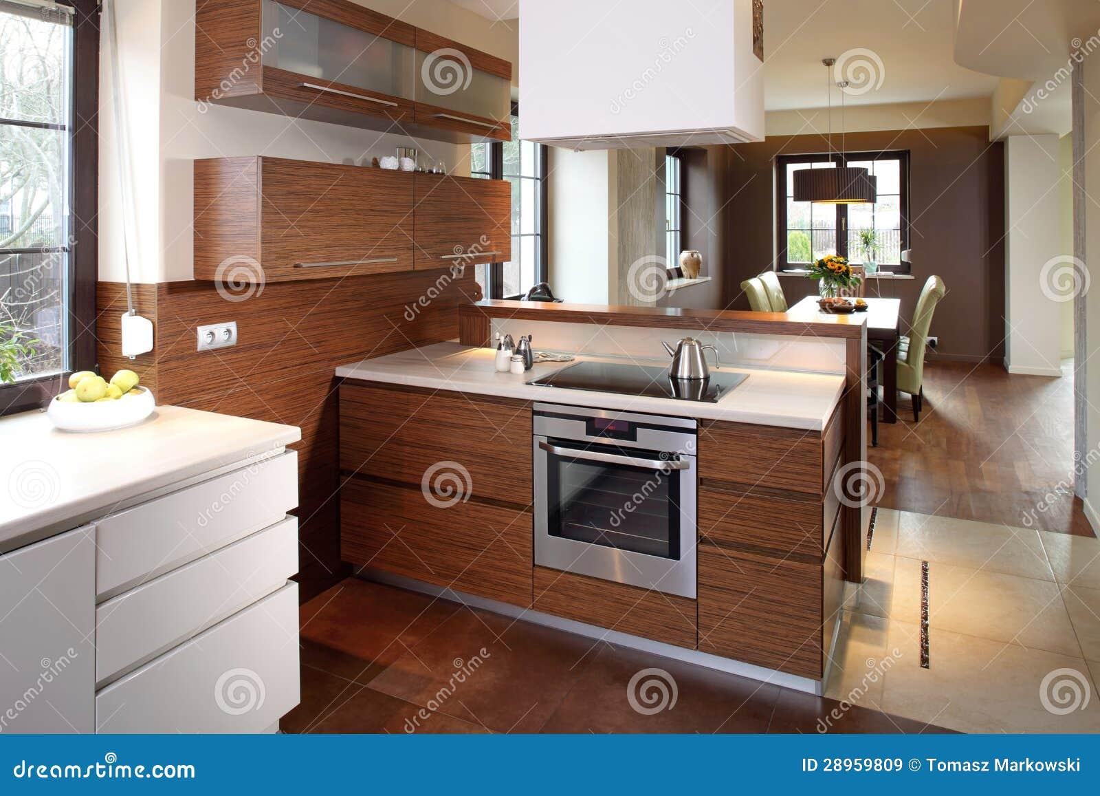 Cozinha Moderna Imagens de Stock Royalty Free Imagem: 28959809 #81A229 1300 957