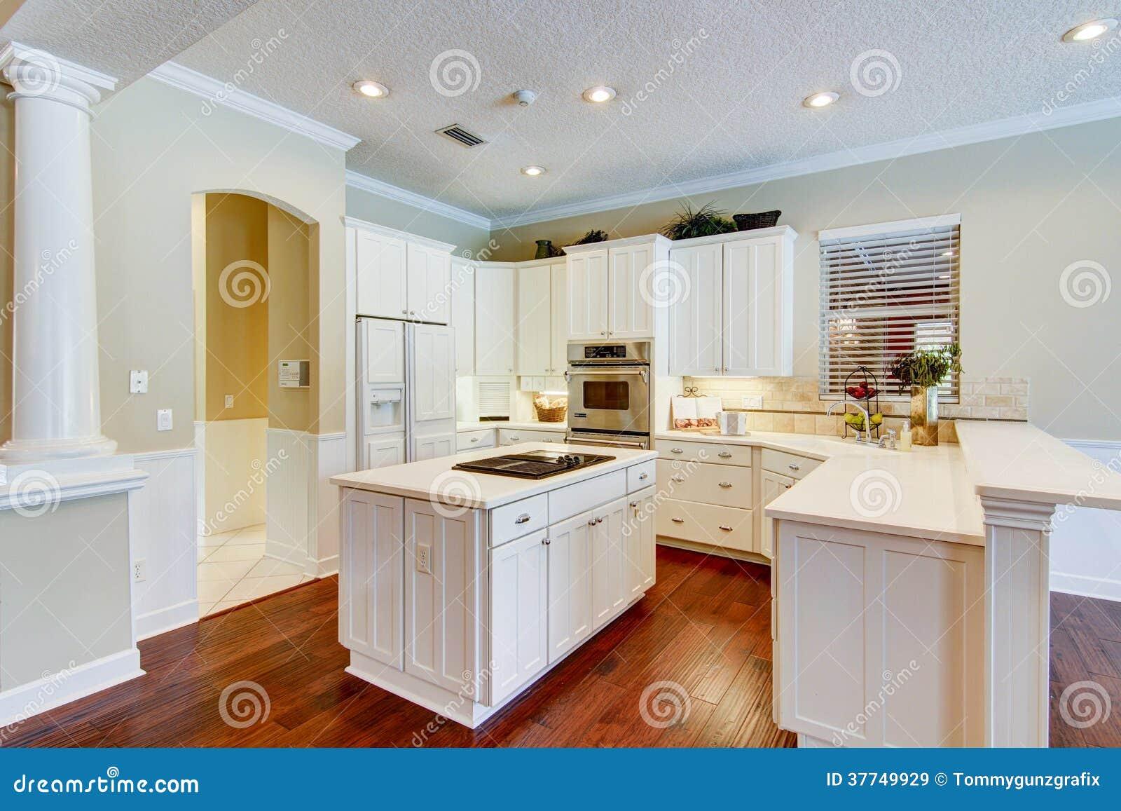 Cozinha Moderna Imagem De Stock Imagem De Assoalho Arm Rios 37749929