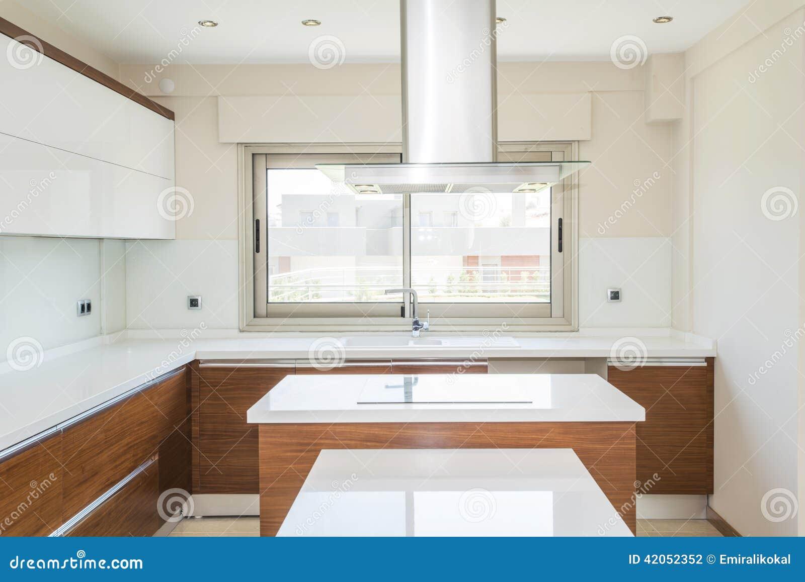 Cozinha Moderna Brilhante Foto de Stock Imagem: 42052352 #83A328 1300 958