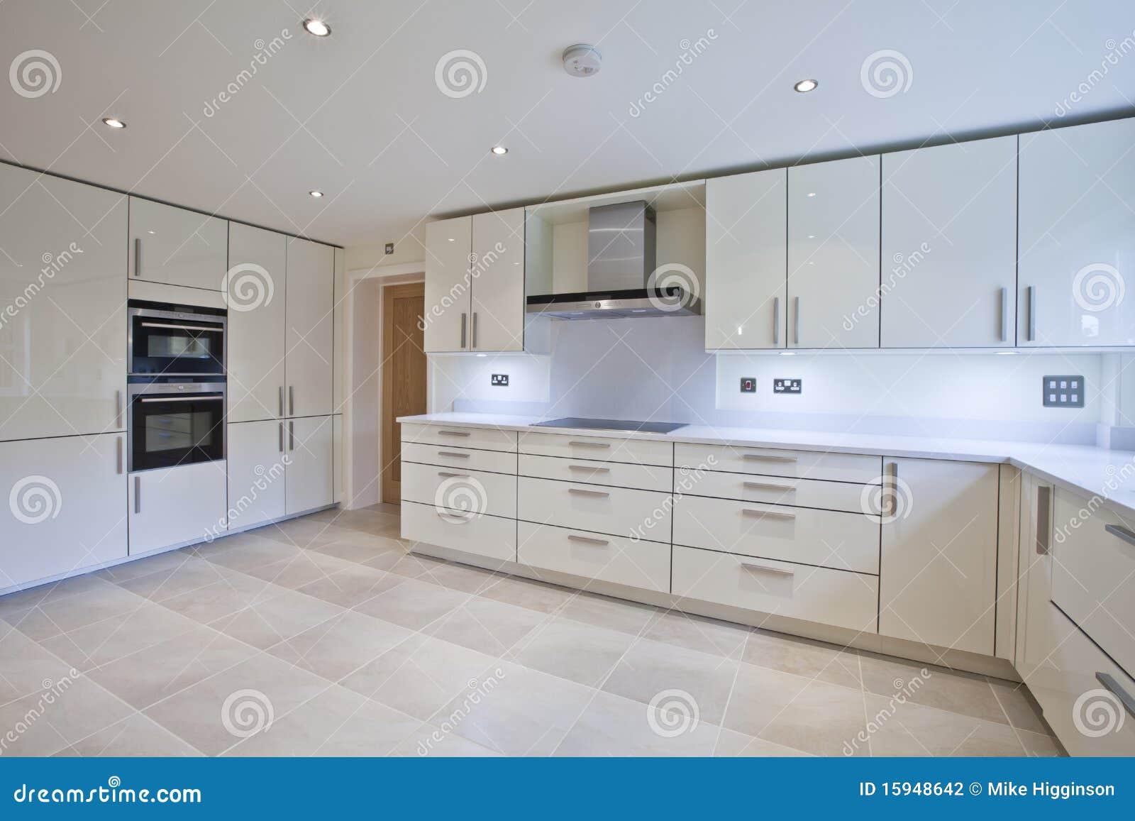 Cozinha Moderna Luxuosa Fotografia de Stock Imagem: 15948642 #82A229 1300 957