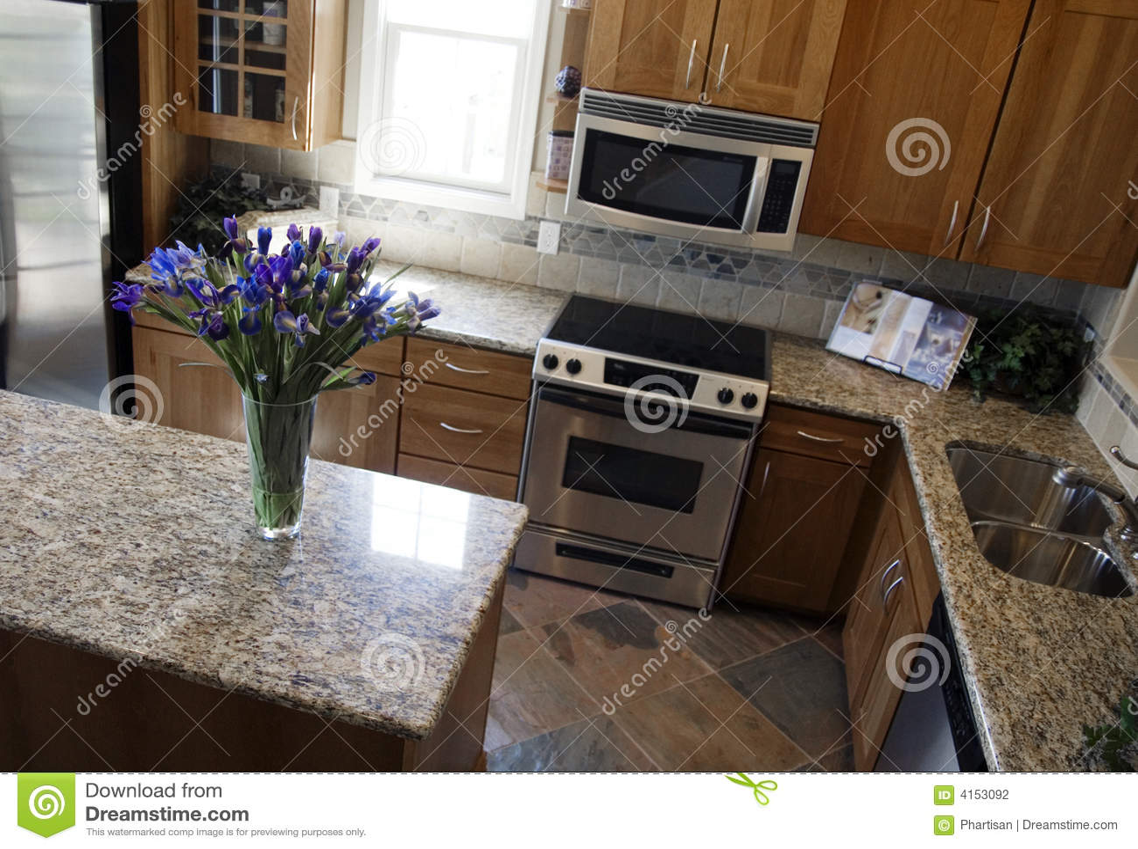 Cozinha moderna luxuosa