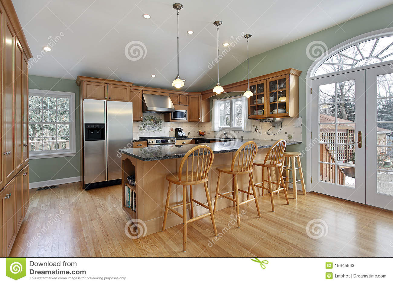 Cozinha na HOME moderna