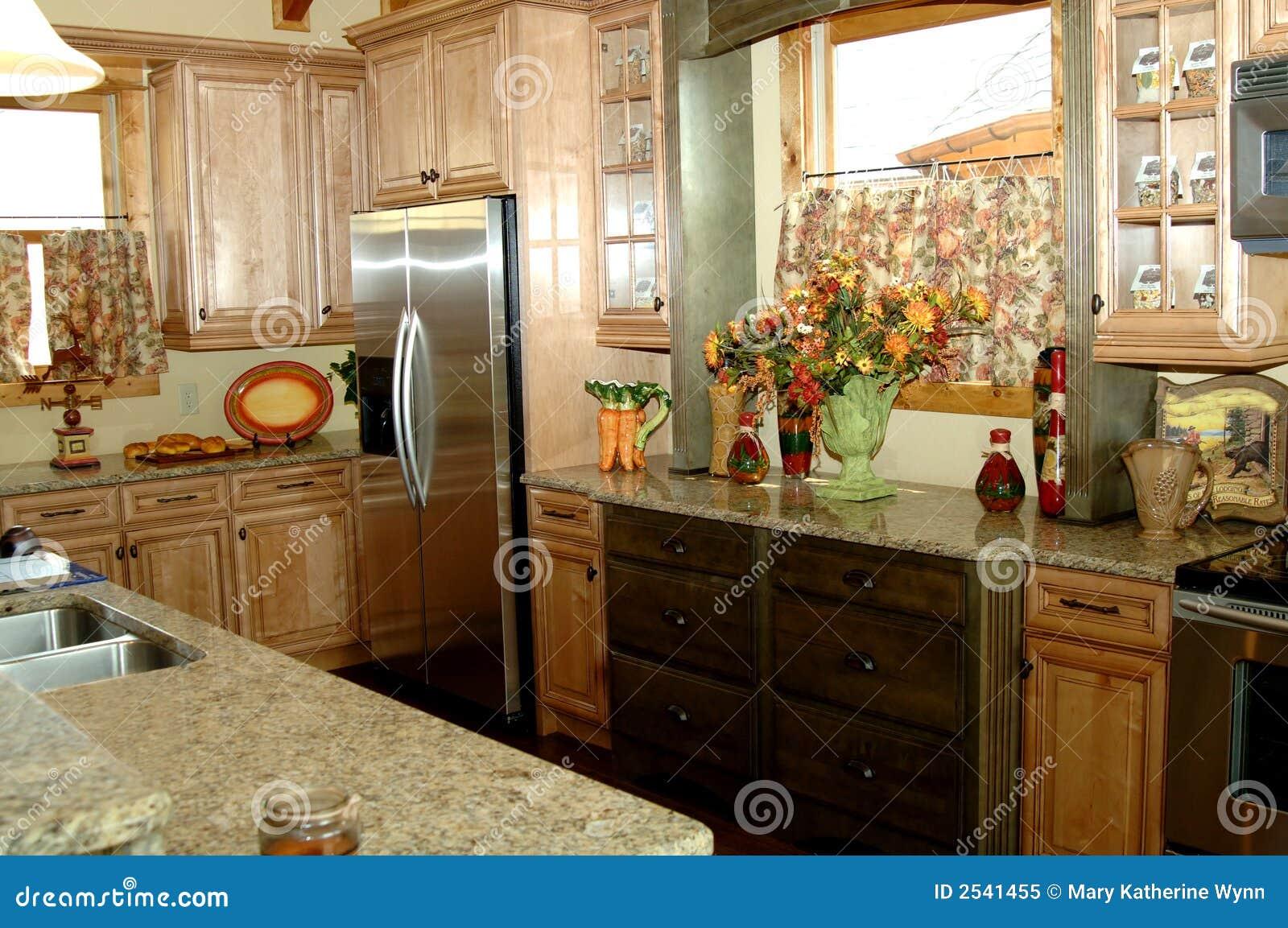 Cozinha R Stica Da Cabine Foto De Stock Imagem De Real 8063962