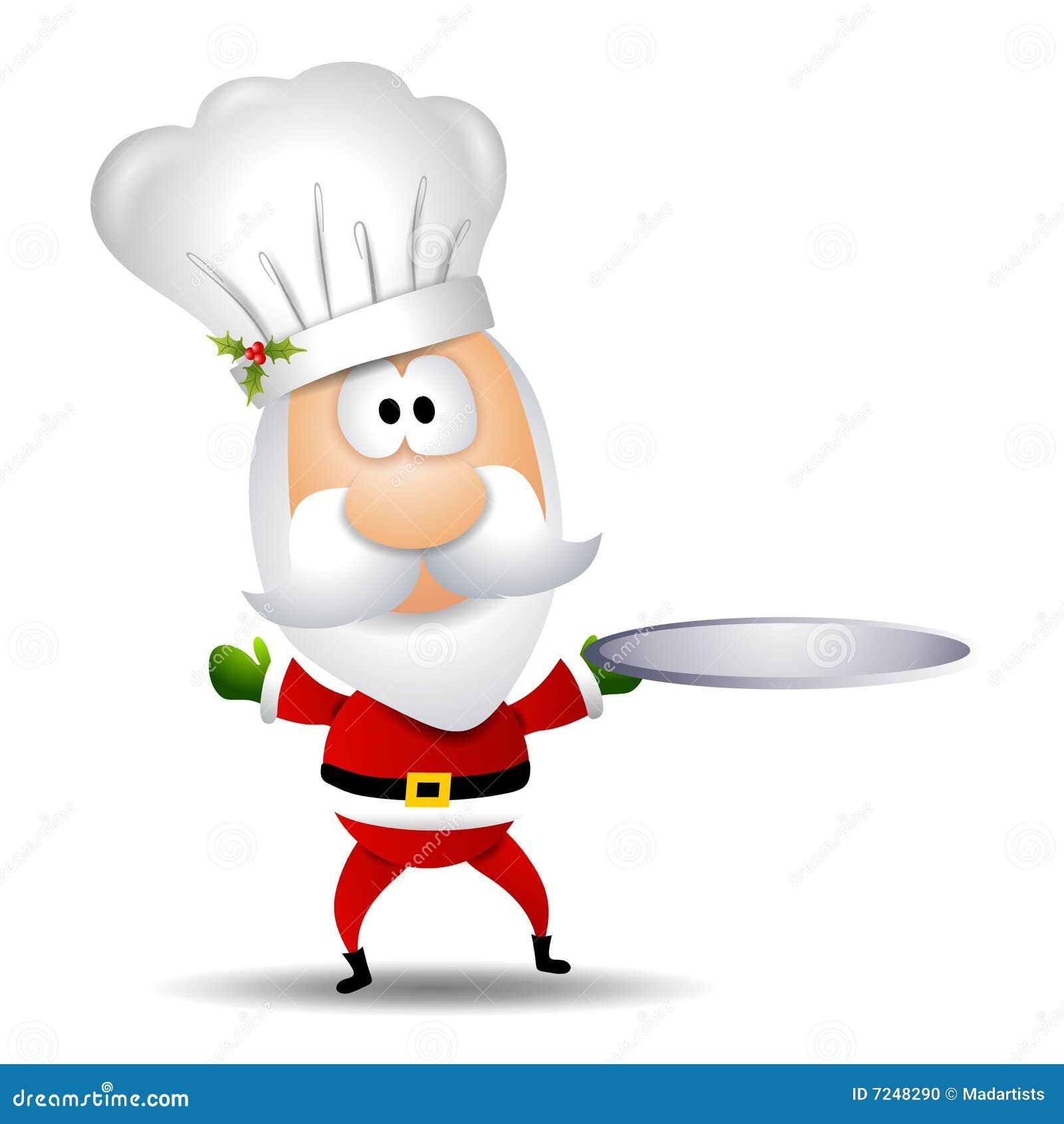 Cozinheiro chefe de Papai Noel
