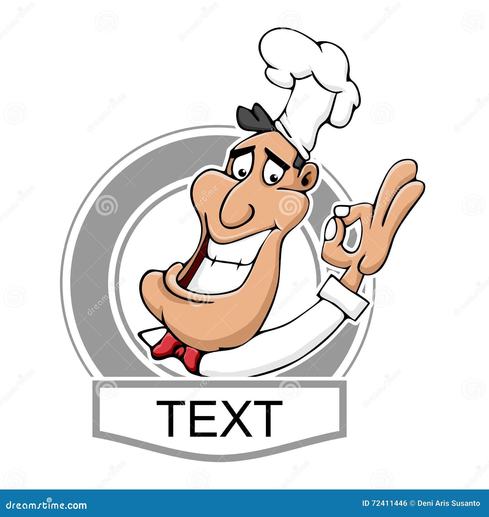Cozinheiro chefe Logo do restaurante