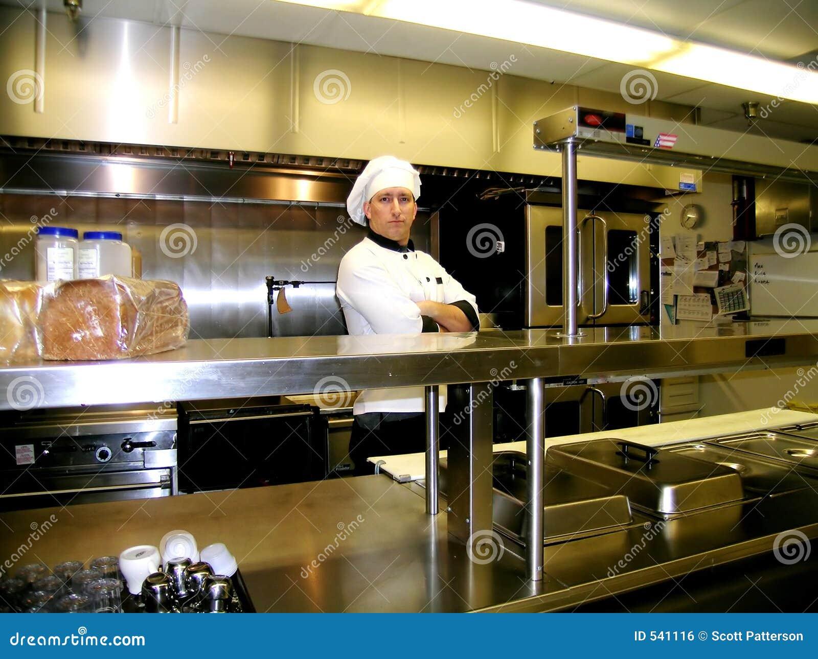 Cozinheiro chefe - na linha