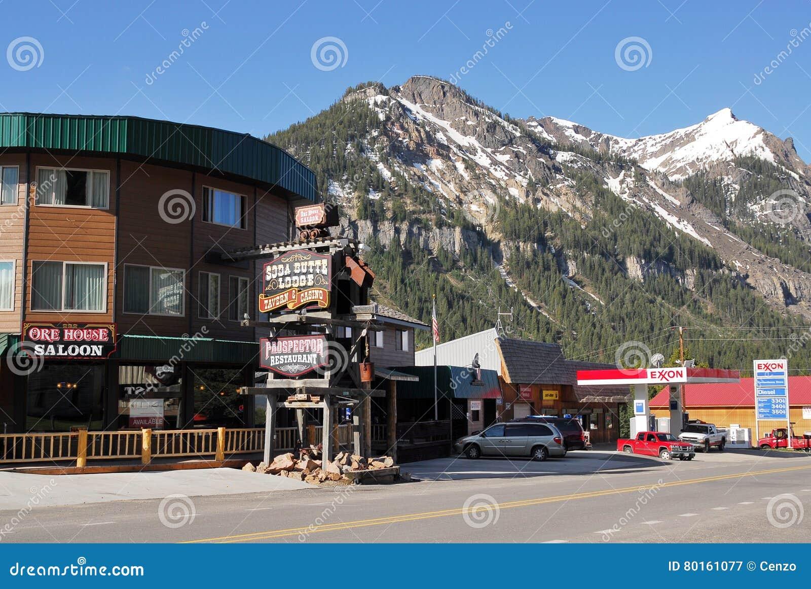 Cozinheiro City, parque nacional de Yellowstone, Montana