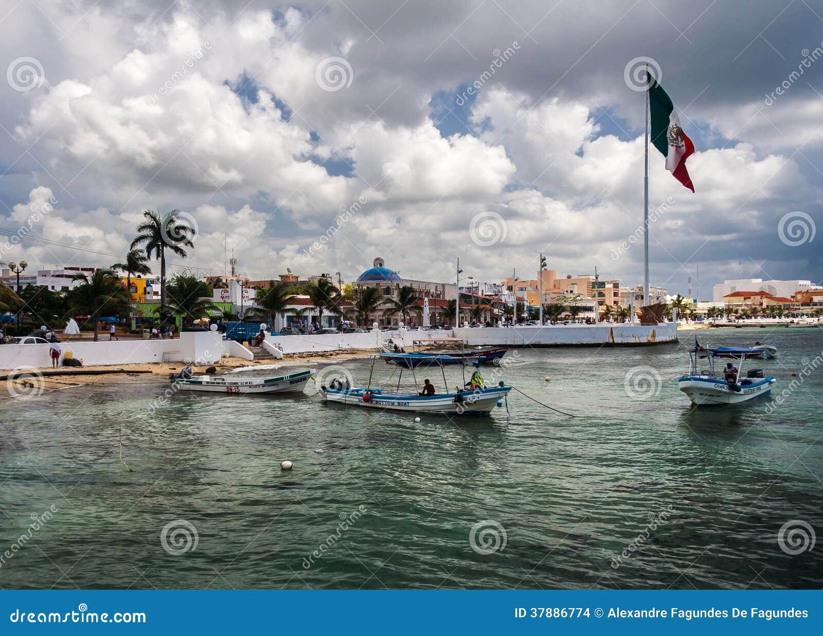 Cozumeleiland Yucatan Mexico