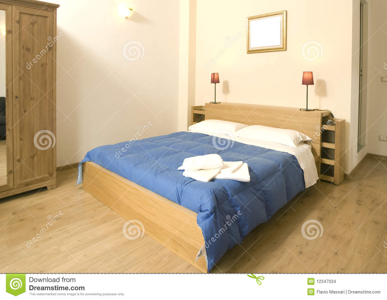 Cozy Bedroom Stock Images Image 12347034