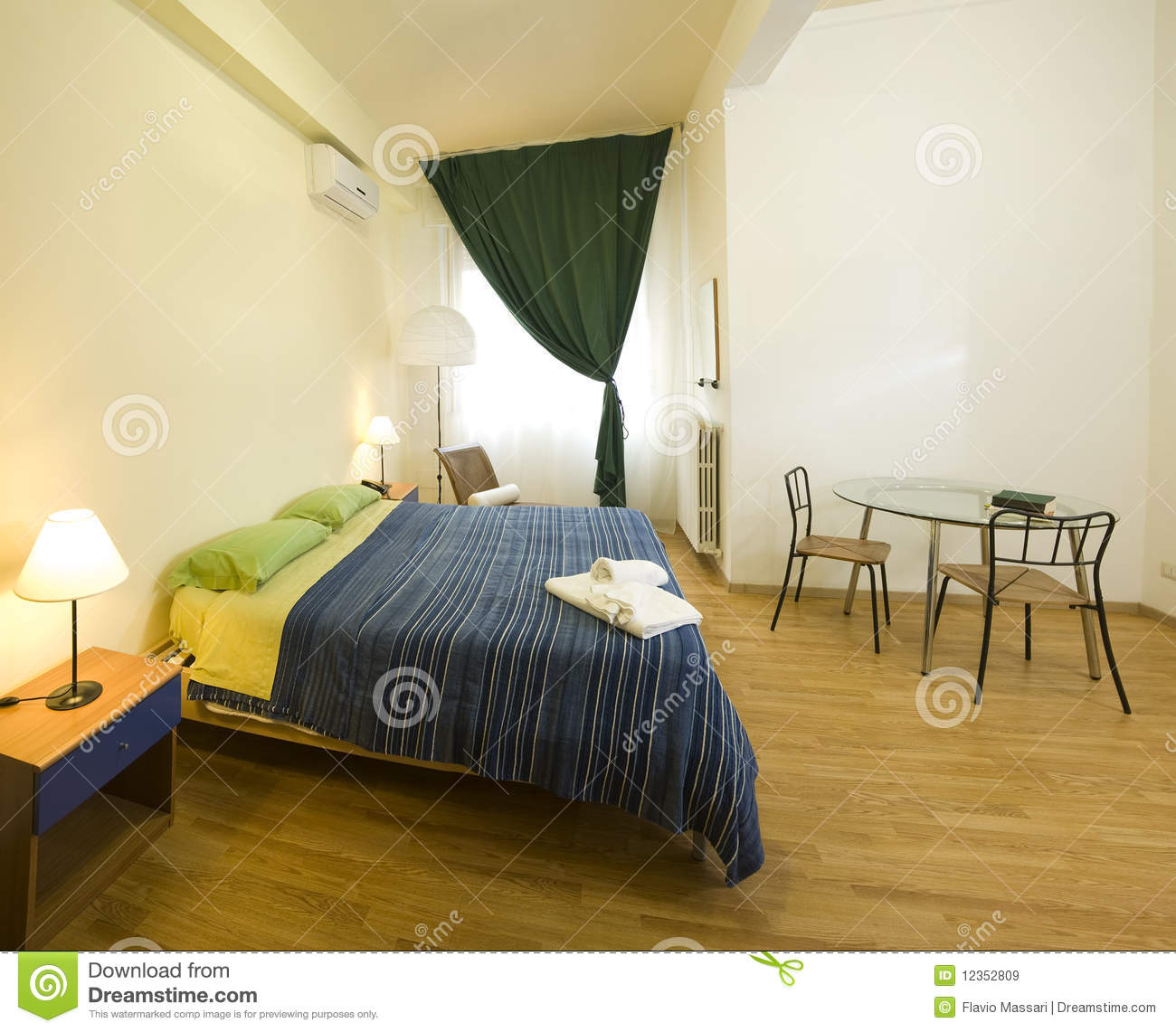 Cozy Bedroom Royalty Free Stock Images Image 12352809