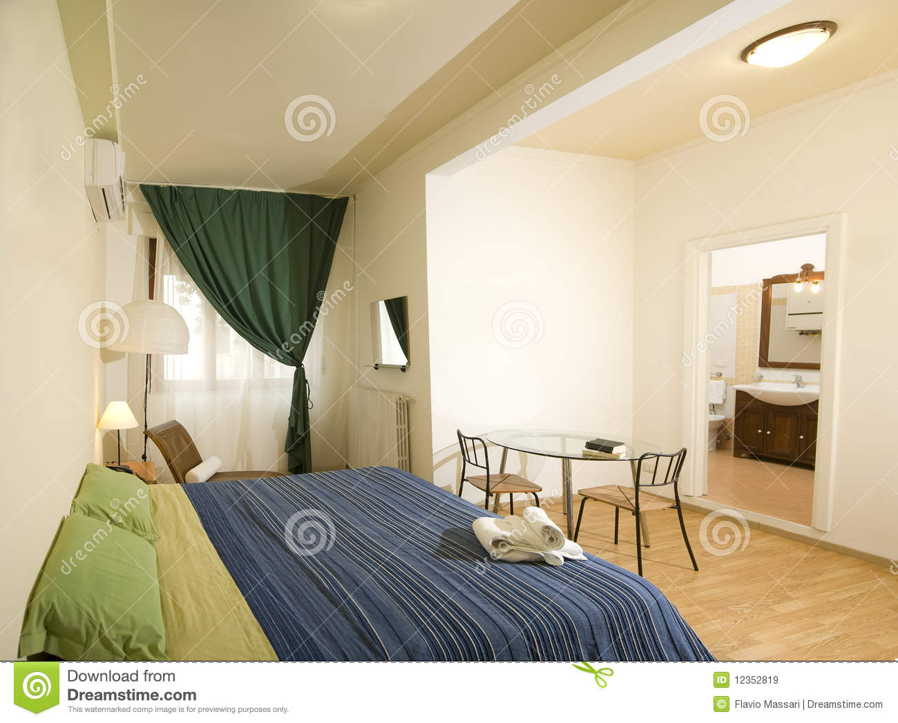 Cozy Bedroom Royalty Free Stock Images Image 12352819