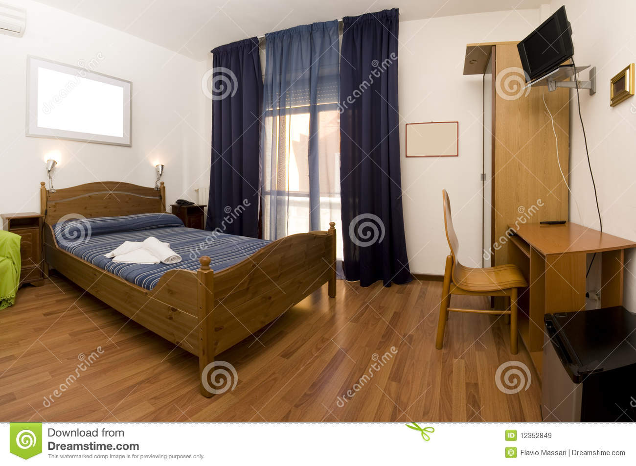Cozy Bedroom Royalty Free Stock Images Image 12352849