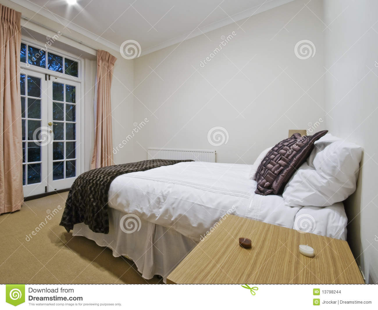 Cozy Bedroom Stock Images Image 13798244