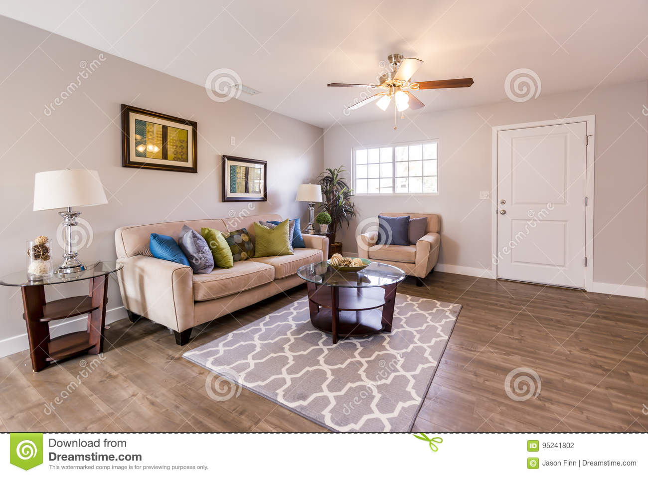 Outstanding Cozy And Bright Living Room Near The Front Door Of San Diego Cjindustries Chair Design For Home Cjindustriesco