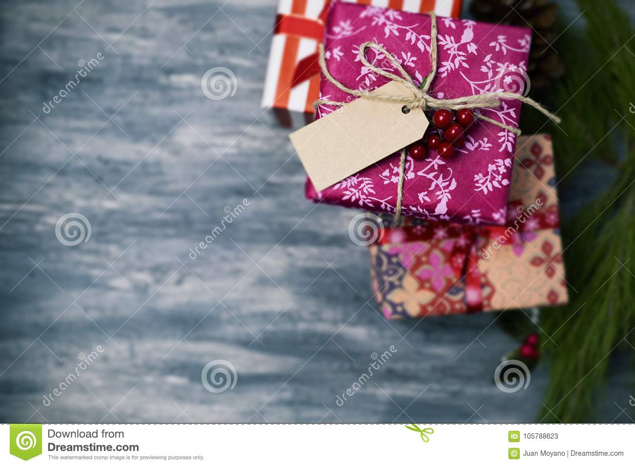 download cozy christmas gifts wrapped in nice papers stock image image of branches cozy - Nice Christmas Gifts