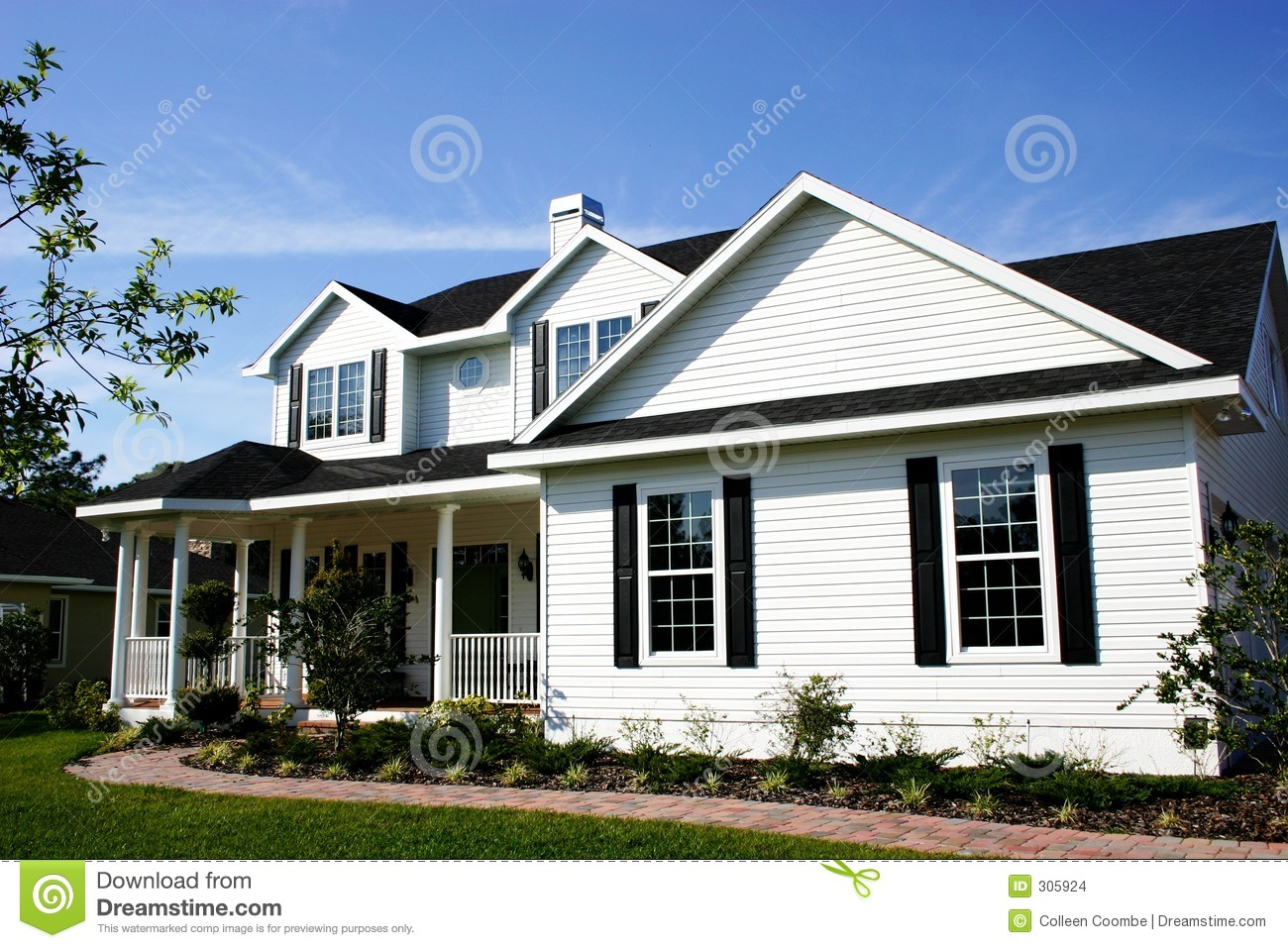 Cozy country home stock images image 305924 for Home de