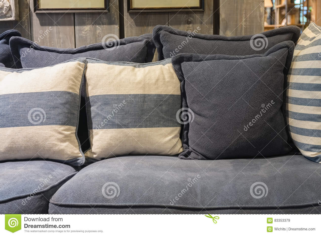 Brilliant Cozy Fabric Sofa Stock Image Image Of Contemporary Comfy Gamerscity Chair Design For Home Gamerscityorg