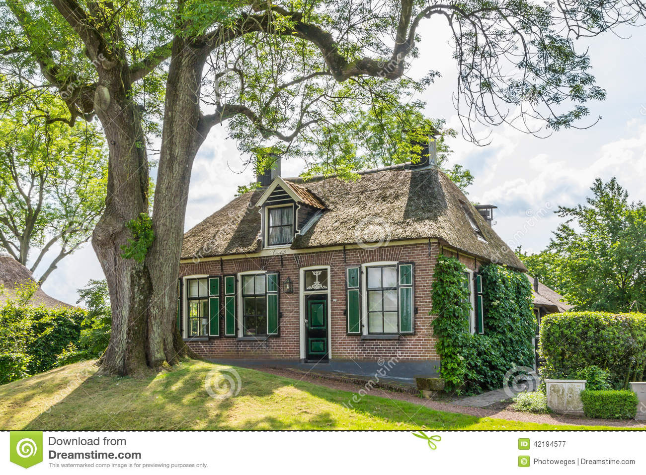 Cozy House Old Villa Holland Stock Photos Images & Pictures  99 Images