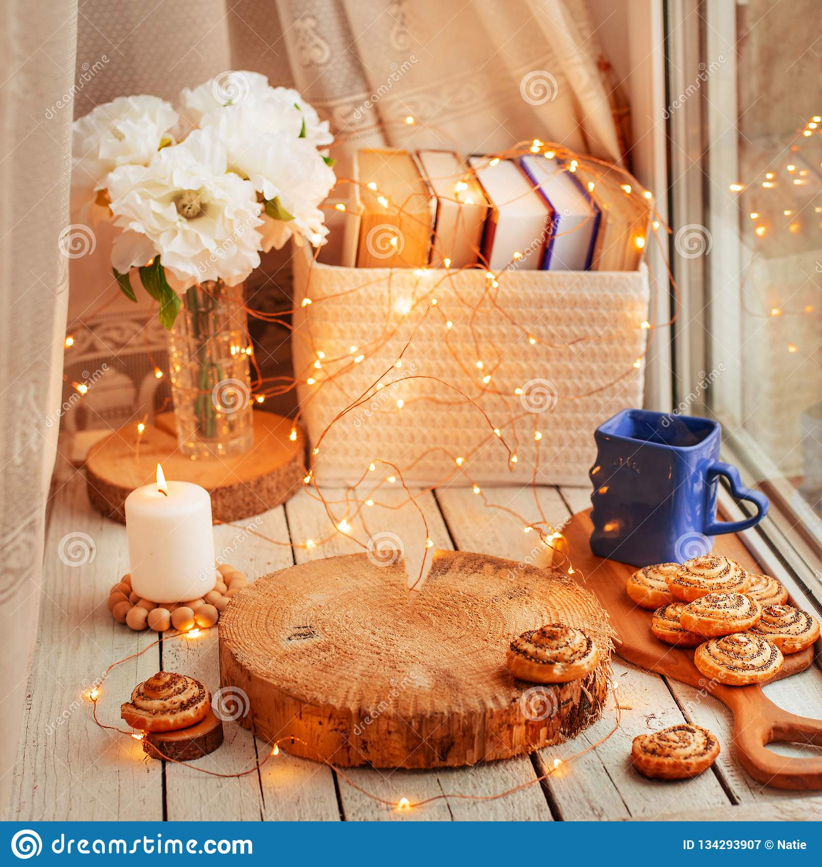Cozy home background