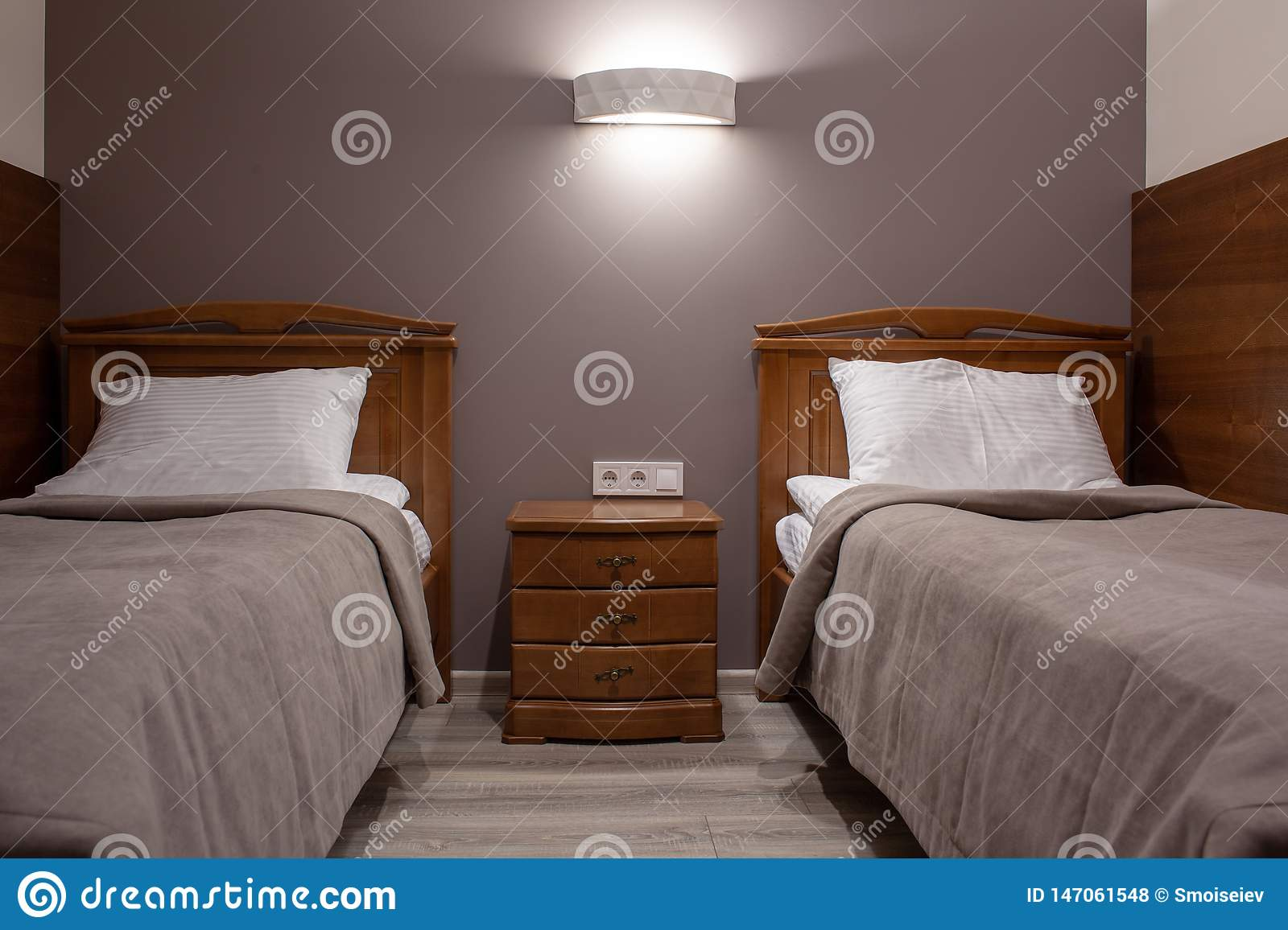 Cozy Hotel Room Stock Photo Image Of Furniture Modern 147061548