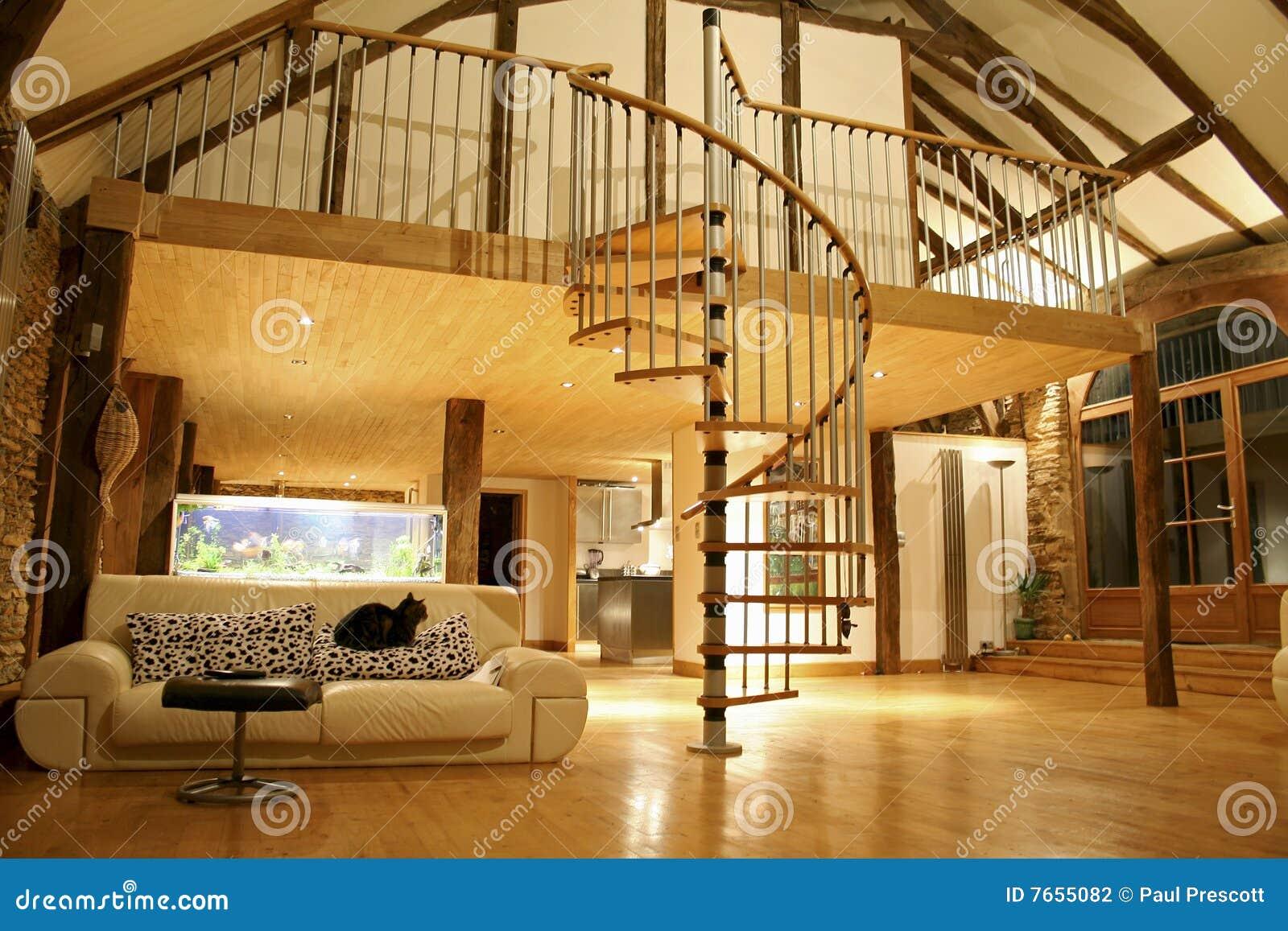 Cozy House Stock Photo Image Of Home Mezzanine Level