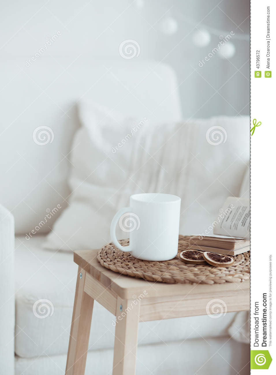 Cozy Interior Details Stock Photo Image 43796572