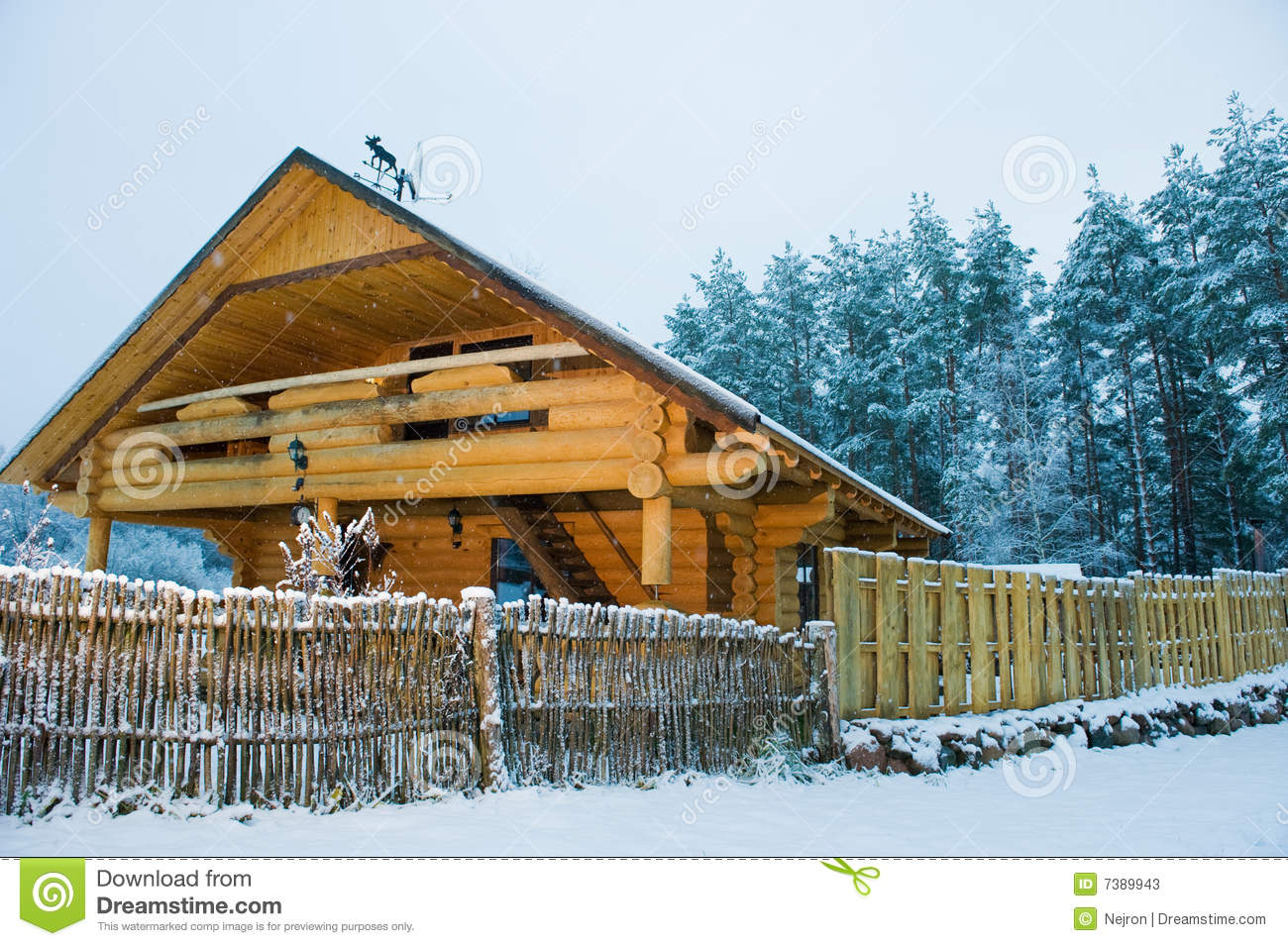 Cozy Little Wooden House Stock Image Image Of North Apartment - Cozy wooden house