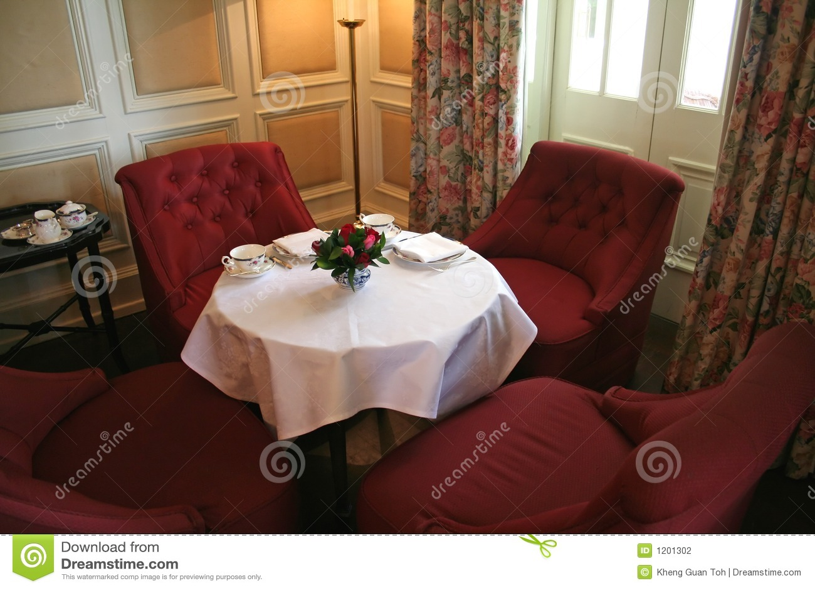 Cozy tea corner