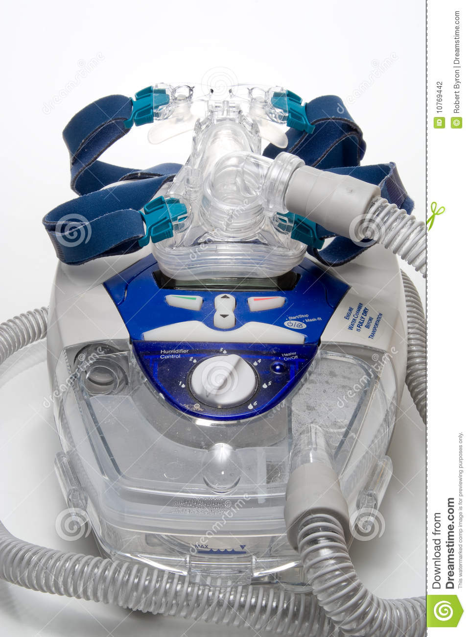 CPAP Machine stock photo  Image of care, study, breath - 10769442