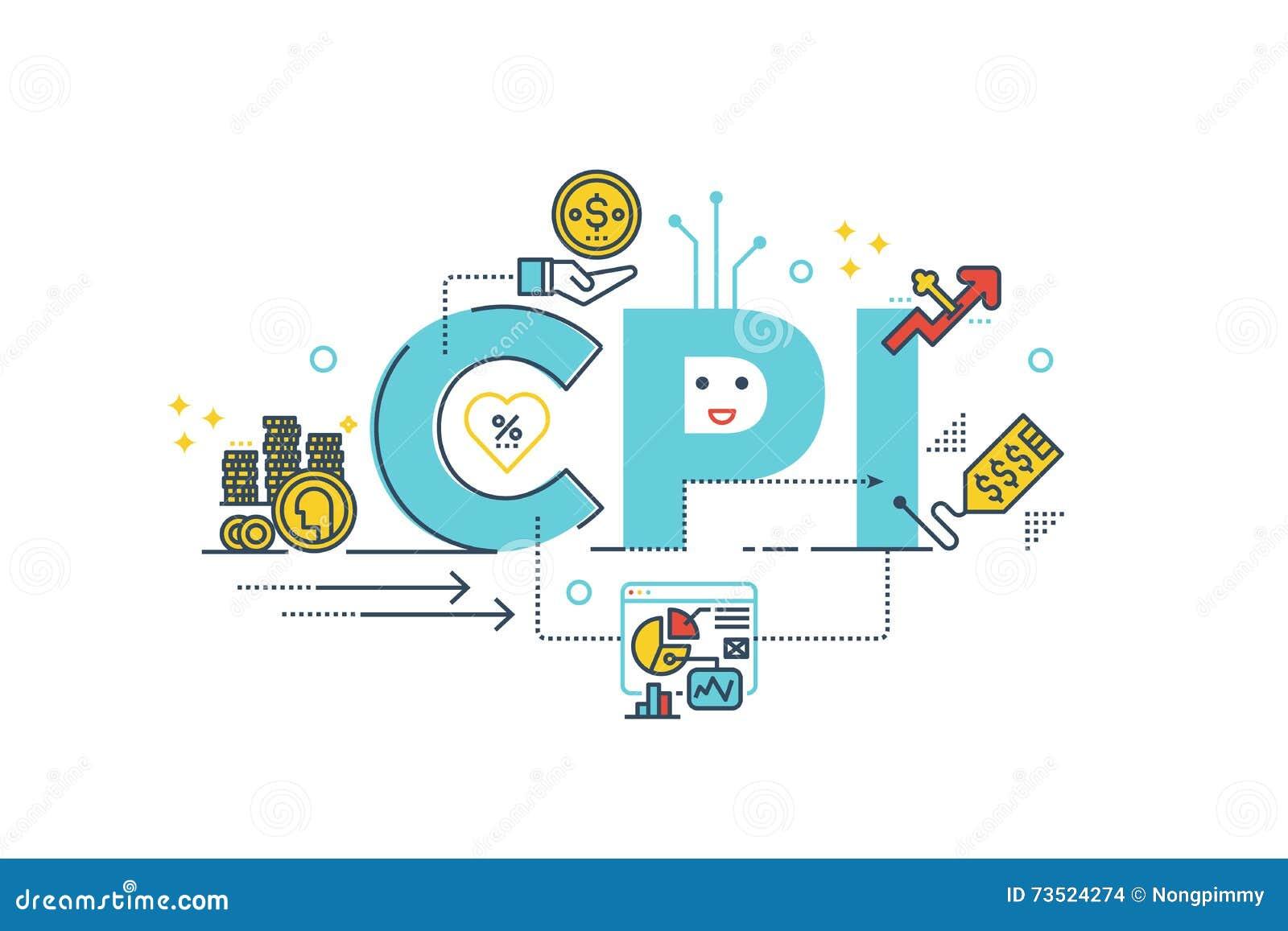 CPI: Palabra de índice de precios al consumo
