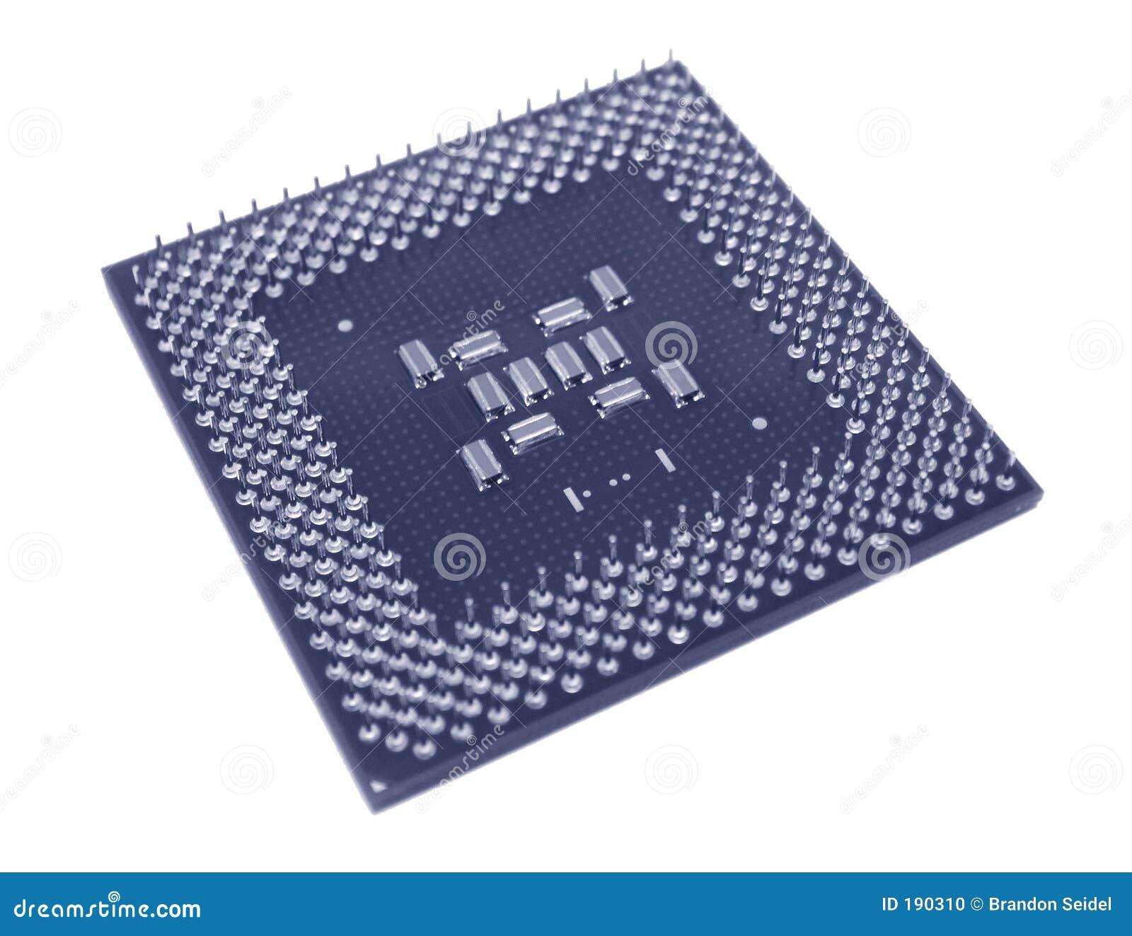 CPU bleue