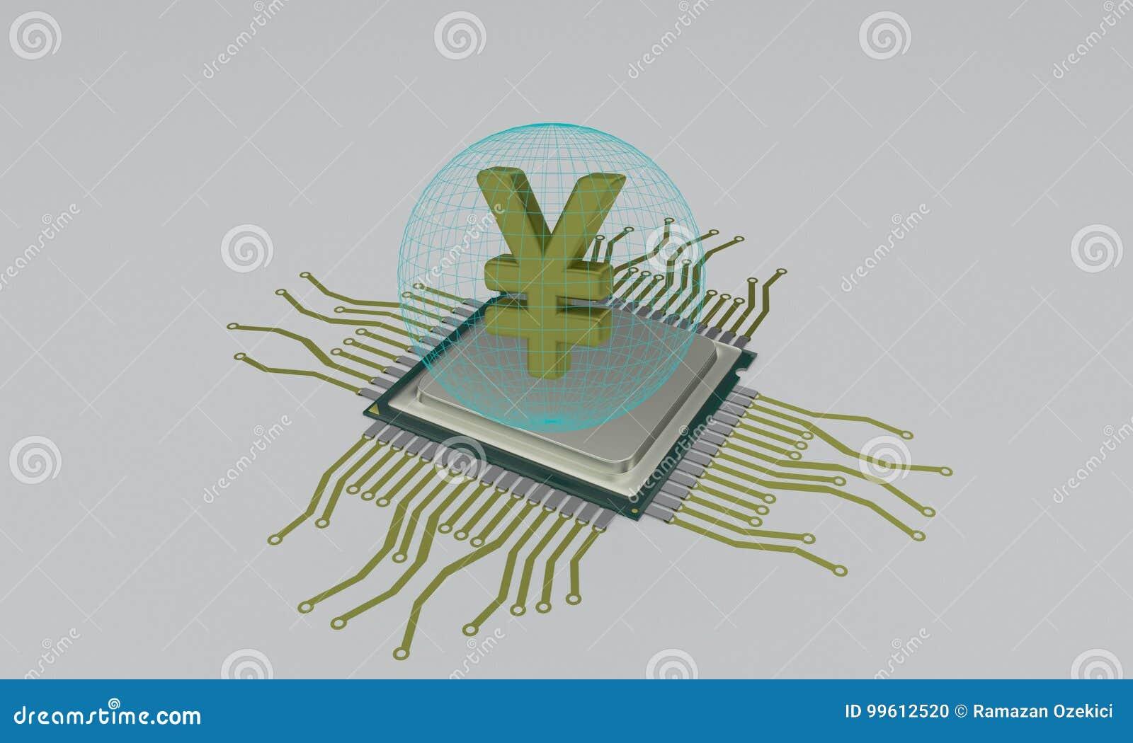 Cpu circuit diagram and yen, 3d