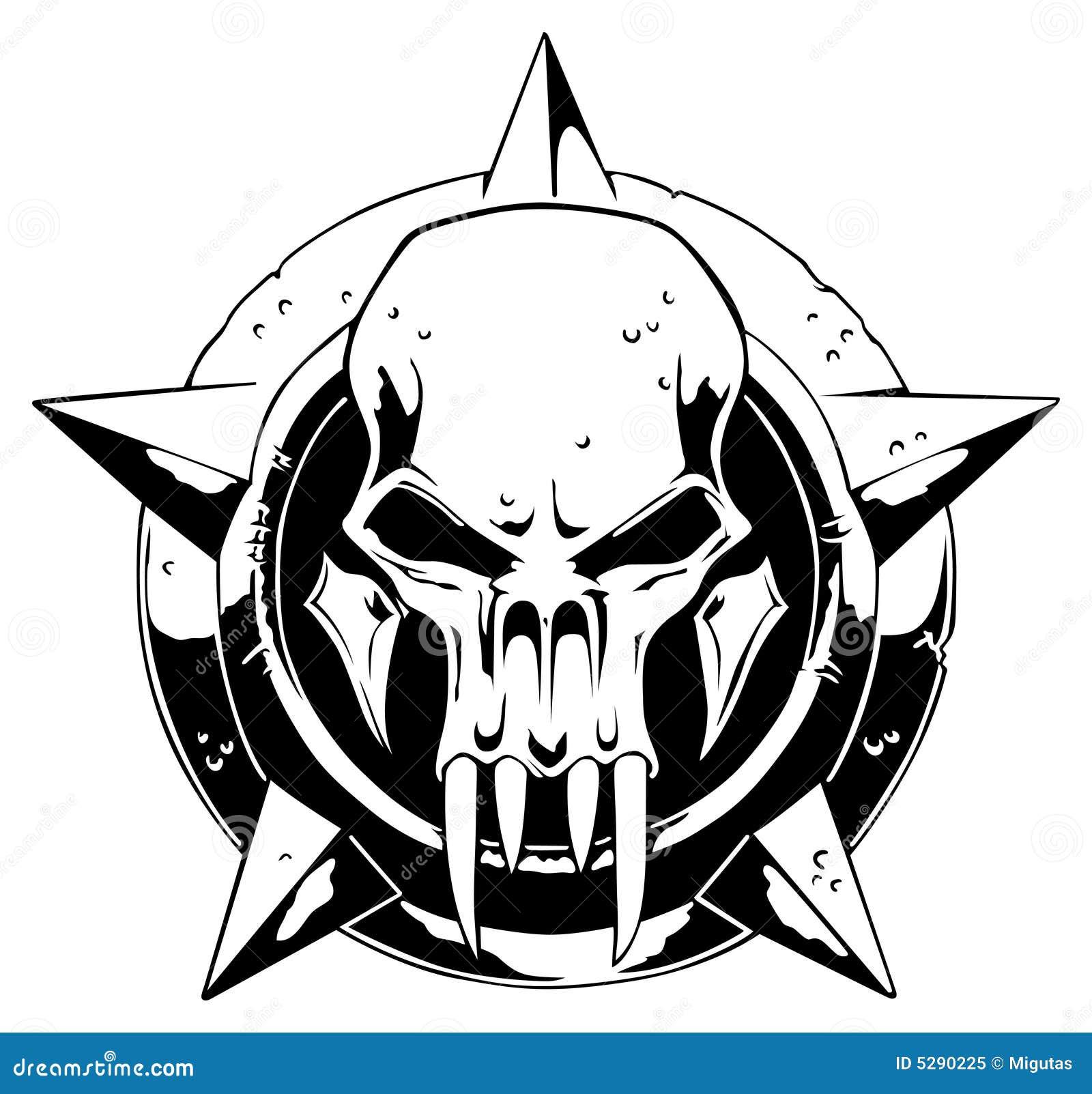 Cráneo del monstruo