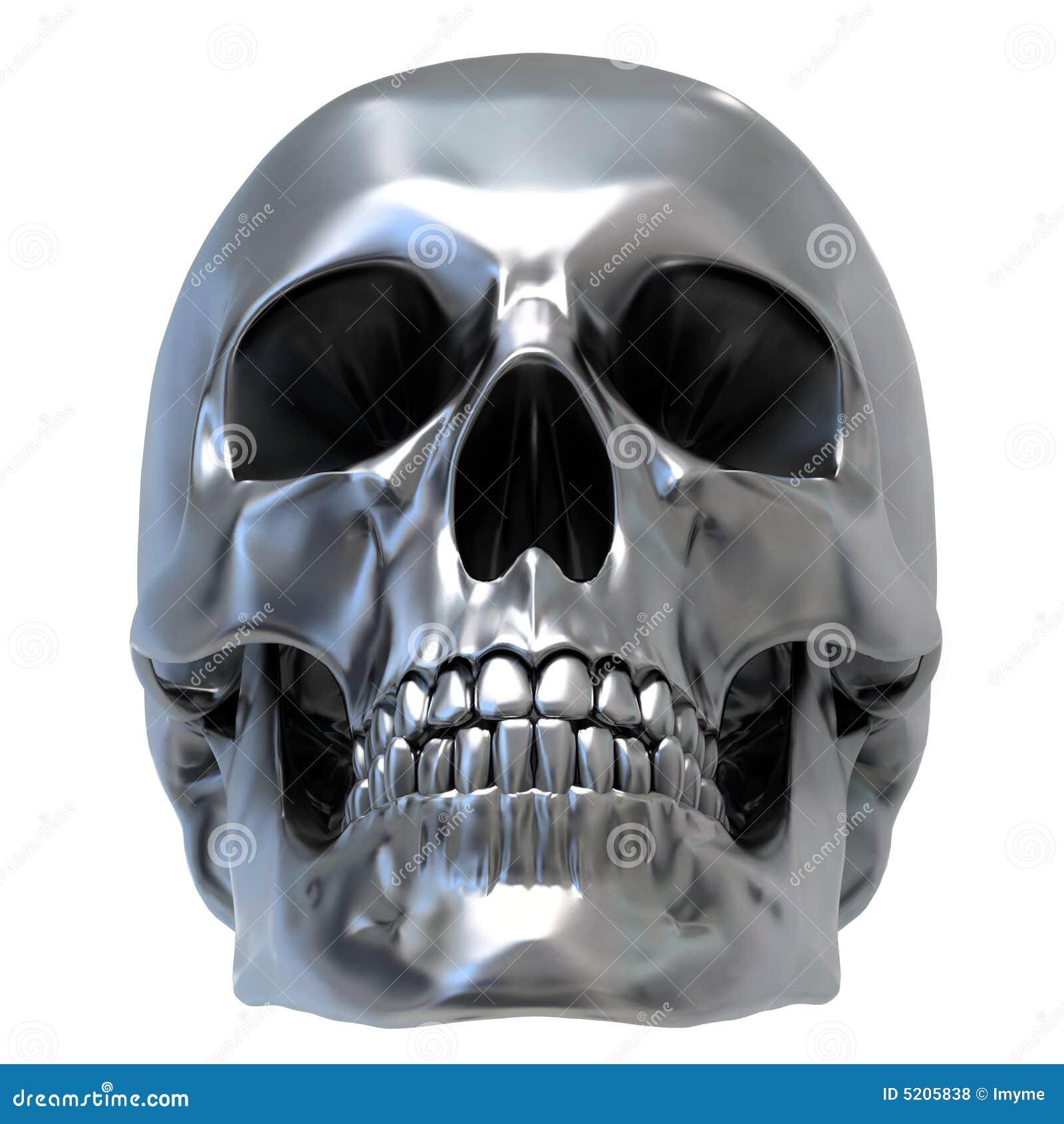 Cráneo metálico