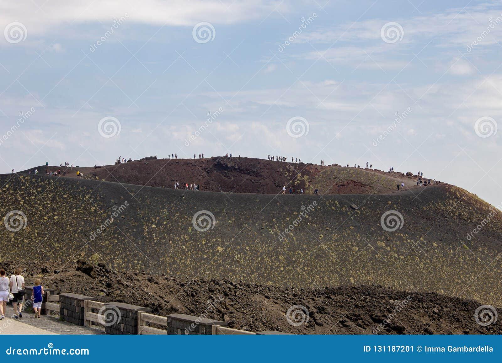 Cráteres del Etna en Sicilia 08/08/2018