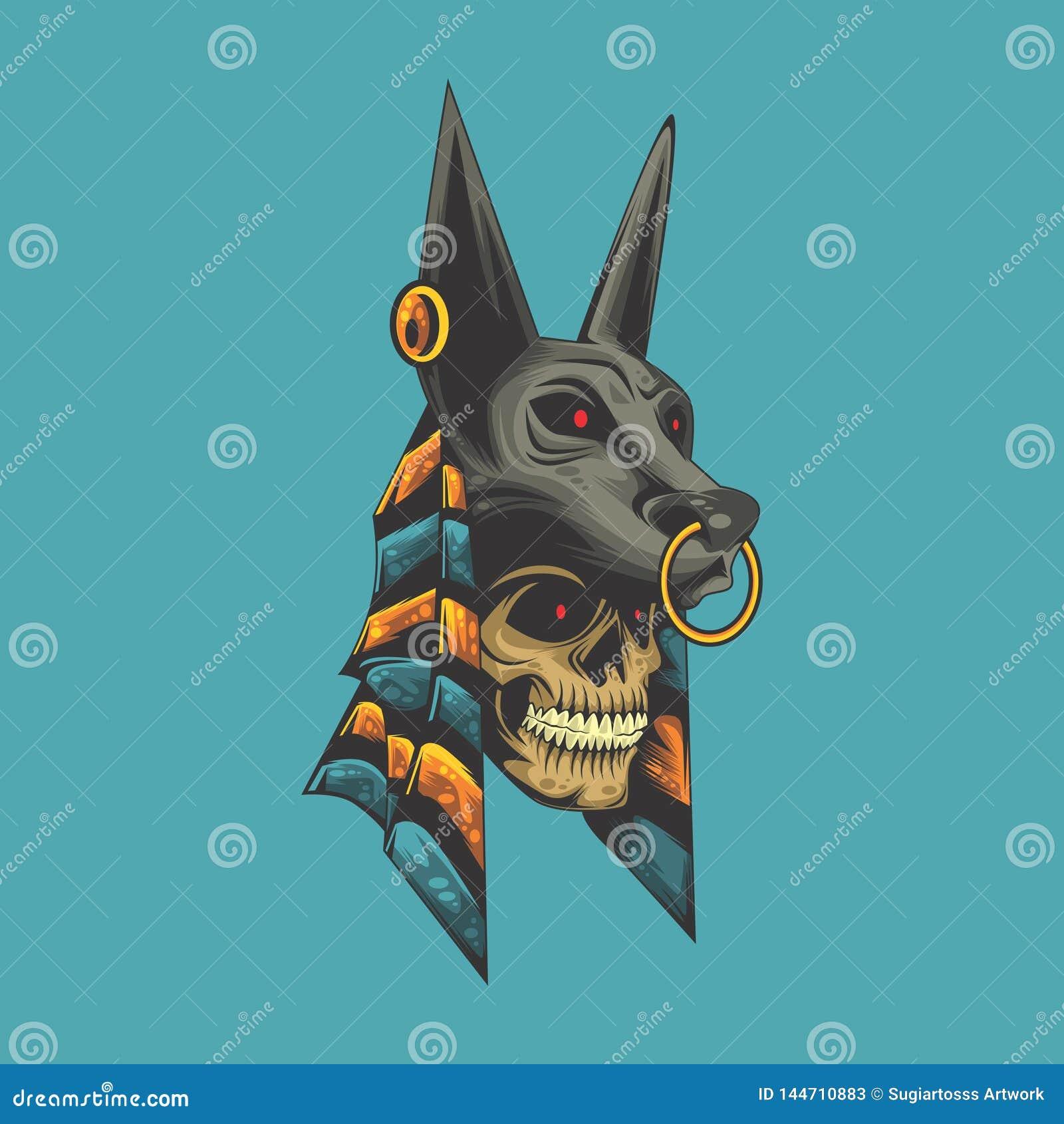 Crâne d Anubis