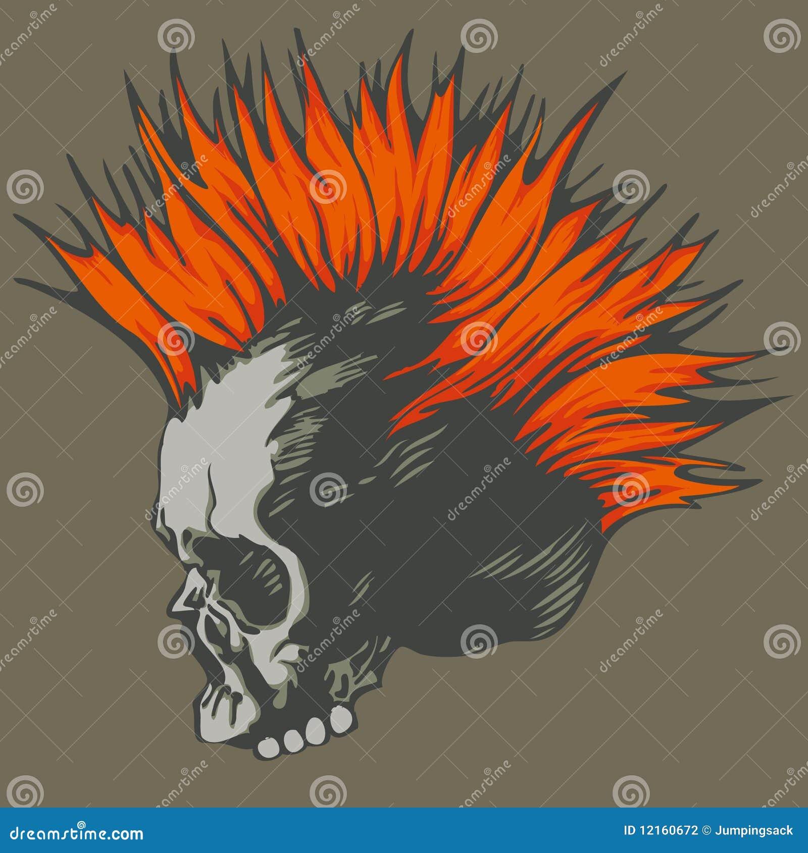 Crânio do punk