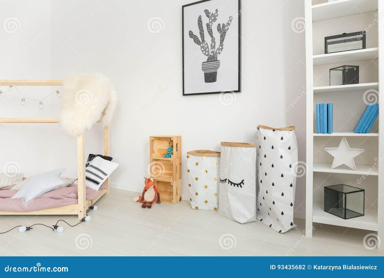 fb1956843da84 Crèche moderne de bébé avec des accents neutres et des accessoires  minimalistic