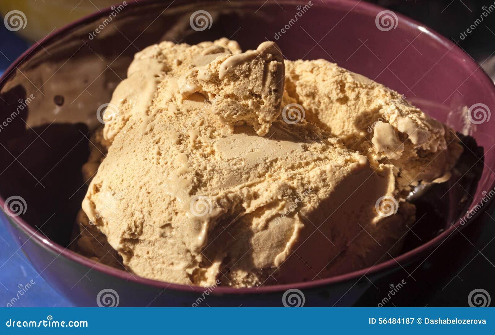 Crème brulée de crème glacée