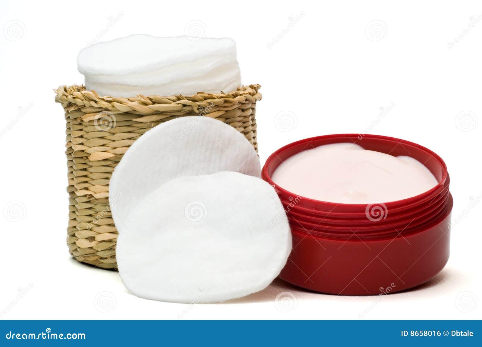 Crème hydratante de visage de 2 nettoyeurs