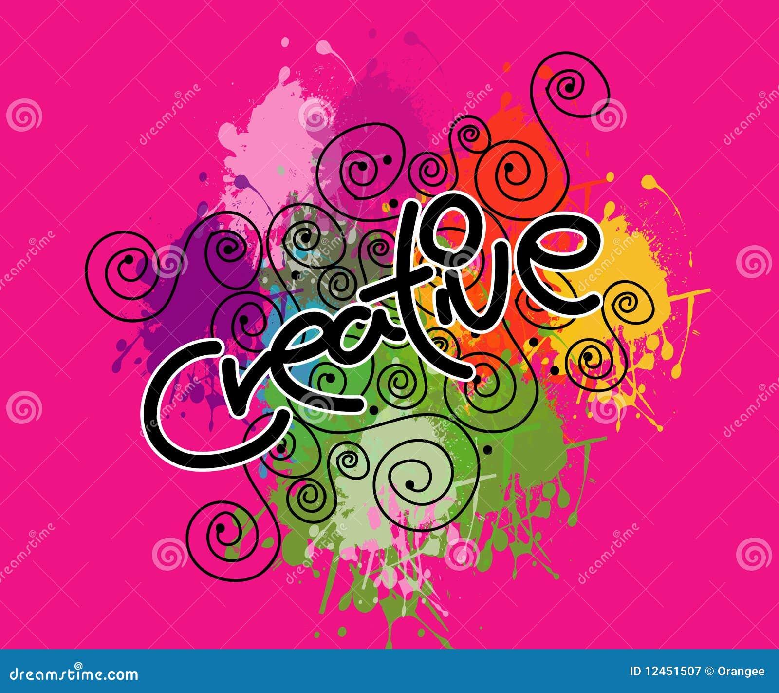 Créateur dans le rose